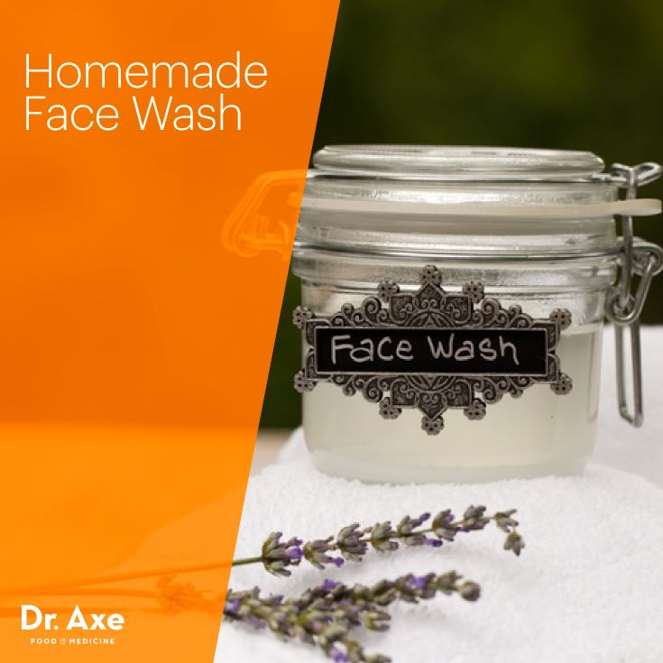 Homemade Face Wash - Dr.Axe