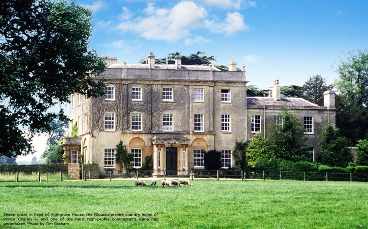Highgrove House, the Gloucestershire country home of Prince Charles: pinterest.com/pin/138133913545515590
