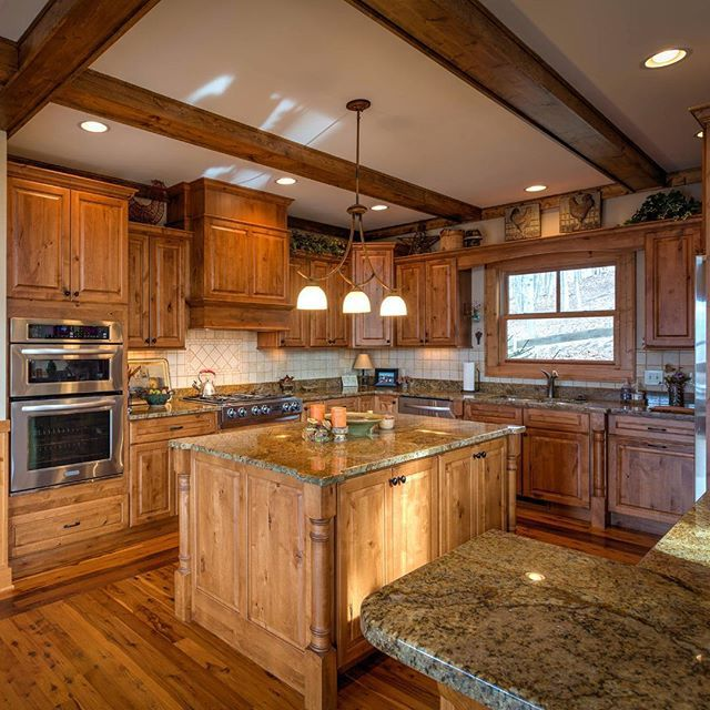 1346 Best Images About Gourmet Kitchens On Pinterest: Gourmet Kitchen Includes Custom Cabinetry, Granite Island