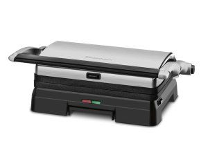 The Cusiniart GR-11 Grill and Panini Pres can make juicy steaks, crispy sandwiches and wholesome burgers for you. If you're looking for the best panini grill in the market at a low price then look no further