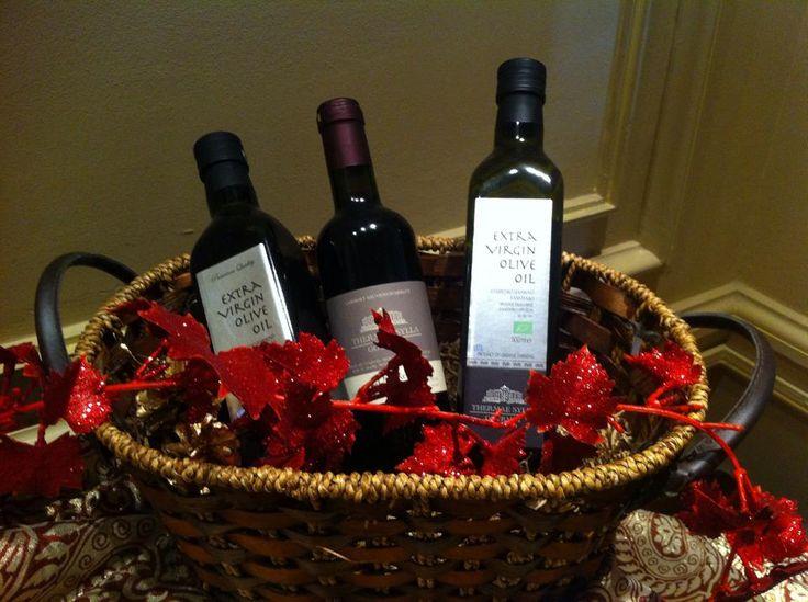 #XmasBox #Wines #Christmas14 #ThermaeSylla #XmasDecorations