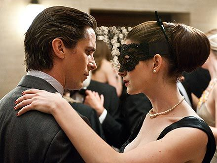 PEOPLE's movie critic reviews The Dark Knight, says plot holes aside, the film is engrossing.: Christian Bale, Knights, Movies, Bruce Wayne, Batman, Selina Kyle, Dark Knight, Anne Hathaway