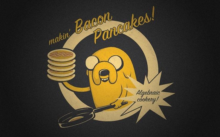 #Makin' #Bacon #Pancakes - #Jake - #Adventure #Time [Movies/Shows] #desktop #wallpapers #cartoon
