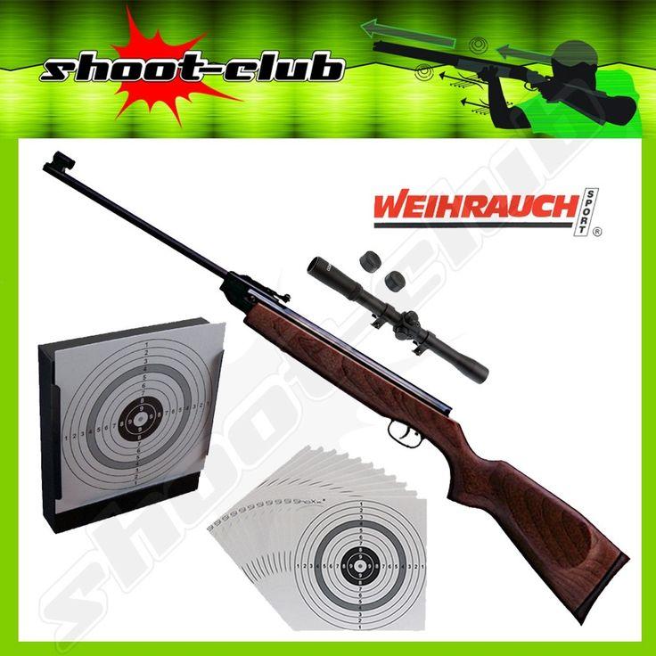 Weihrauch HW 50 M II Kipplauf-Luftgewehr 4,5 mm - Set