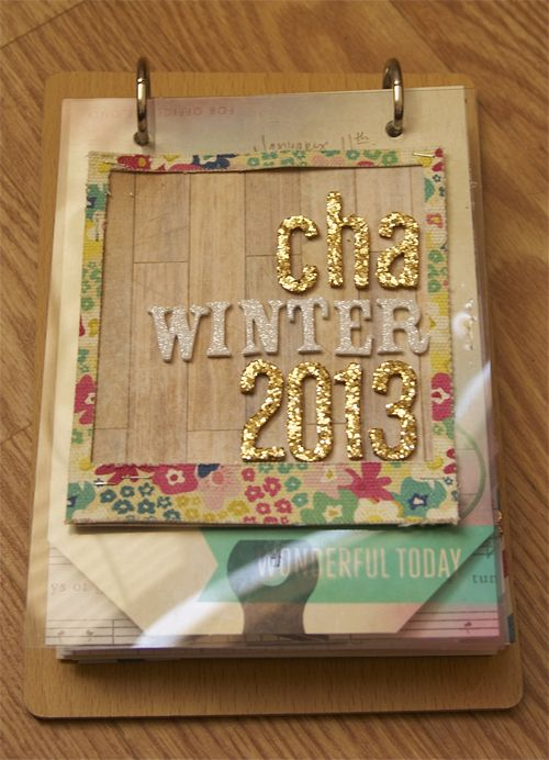 CHA Album created by @Ashley Harris using Crate Paper's Maggie Holmes Collection.