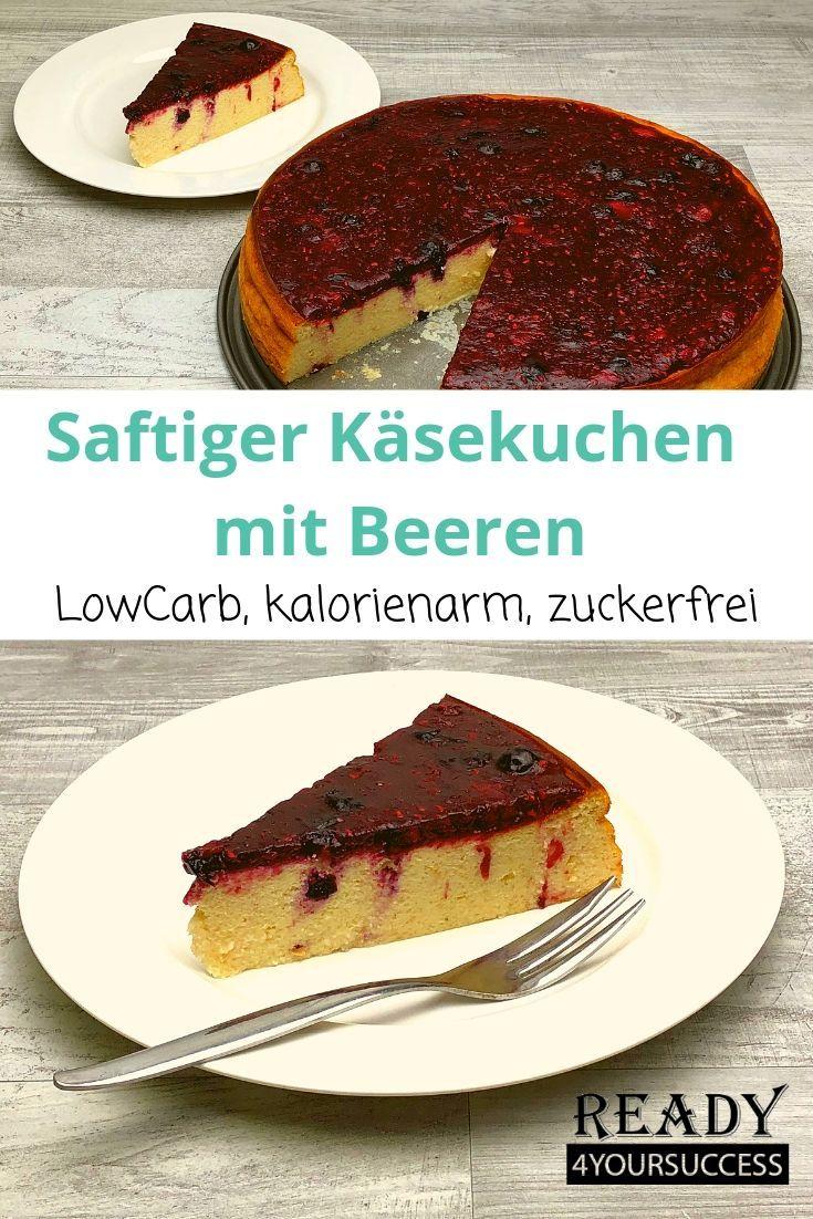 Saftiger Kasekuchen Mit Beeren Rezept Kuchen Kalorienarm Beste Pfannkuchen Rezept Und Blechkuchen Einfach Schnell