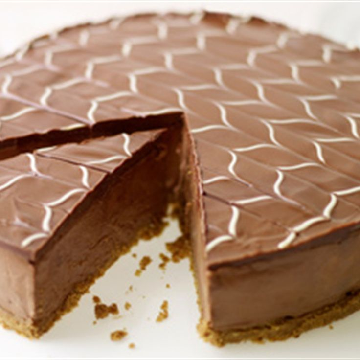 Try this Chocolate Cheesecake with White Chocolate Icing recipe by Chef Lorraine Pascale. This recipe is from the show Home Cooking Made Easy.