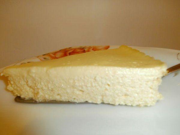 Двоповерхова сирна  запіканка (cheesecake, чизкейк из творога)