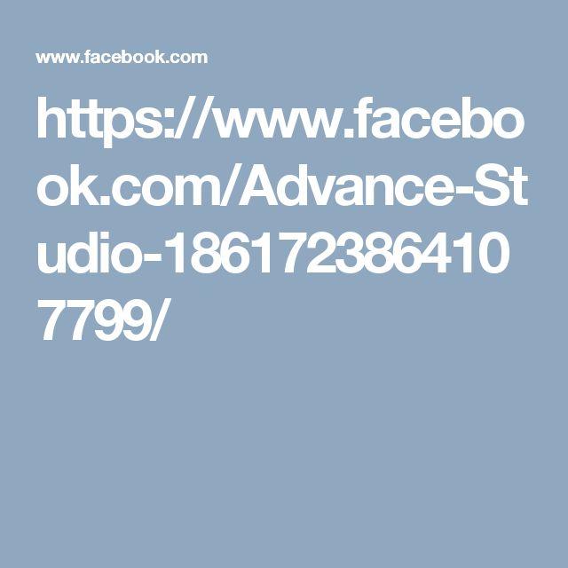 https://www.facebook.com/Advance-Studio-1861723864107799/
