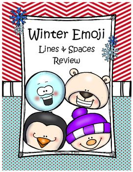 Are you needing a cute fun way to review the treble clef lines and spaces with your classes/students? These adorable winter themed emoji style worksheets are just what you need.With the purchase of this packet, you will receive the following printable PDF worksheets/pages:1.