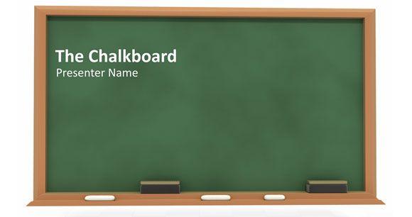 Cómo Crear una Pizarra para Presentación de PowerPoint : : Plantillas Power Point