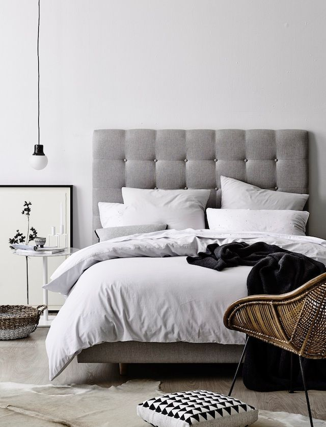 17 best ideas about grey bed on pinterest simple bedroom decor white bedroom decor and simple bedrooms