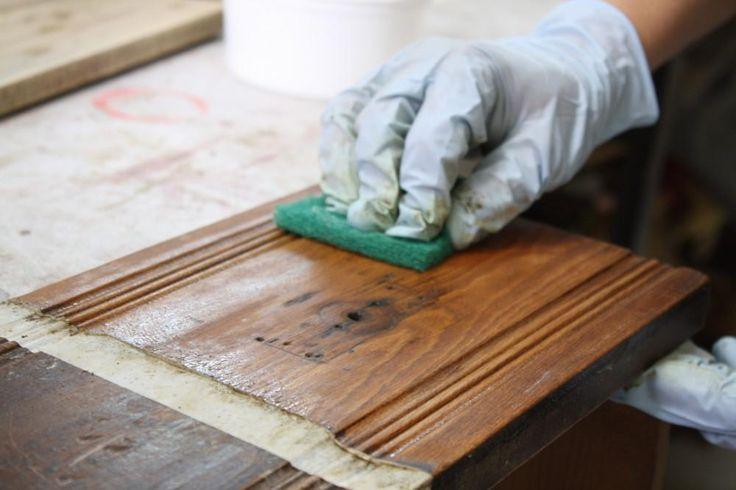 M s de 25 ideas incre bles sobre cortinas caseras en - Tinte para madera casero ...
