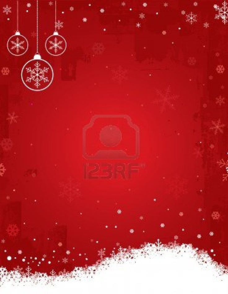 The Trendy Red Christmas Background!!!