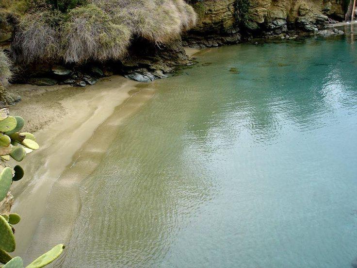 Agia Pelagia beach, Crete :)))