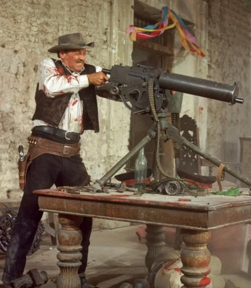 William Holden in The Wild Bunch...   Sam Peckinpah, 1969