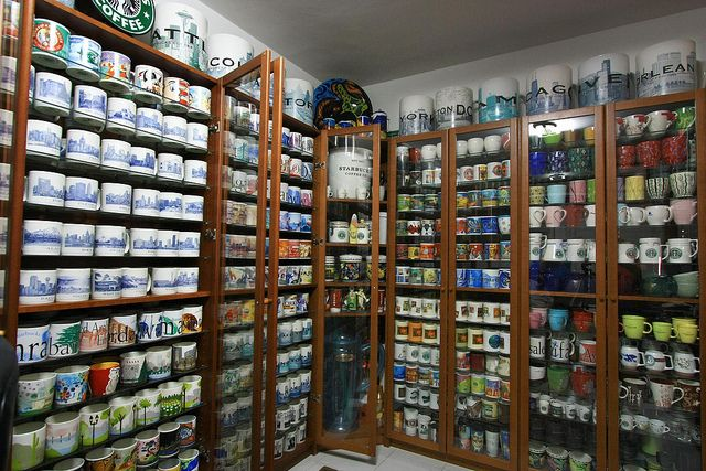 Starbuck's Mugs  OMG....I would love to have this collection!!!