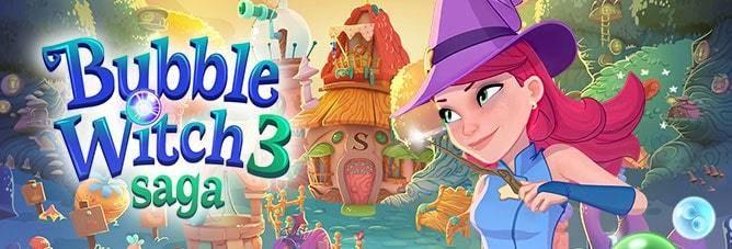 Bubble Witch 3 Saga V5 9 6 Mod Unlimited Life Apk Saga Witch Bubbles