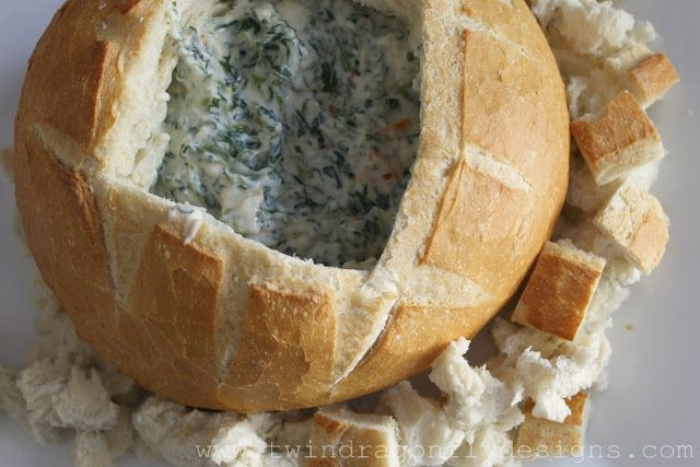 Dragonfly Designs: Classic Spinach Dip