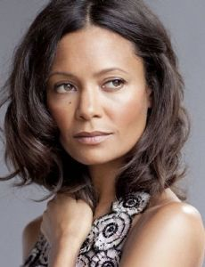 I picture someone like Thandie Newton for the wife role.