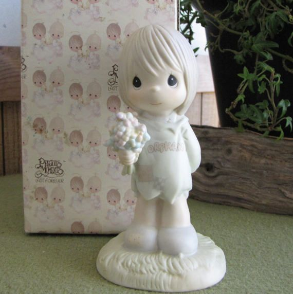Precious Moments I Belong to The Lord Figurine by LazyYVintage