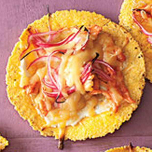 BBQ Chicken Tortilla Pizzas - Rachael Ray Every Day