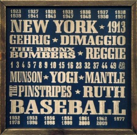 amazoncom new york yankees vintage sports wall decor 18x18 wood. beautiful ideas. Home Design Ideas