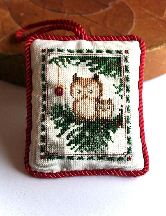 Cross Stitch Pattern  Woodland Joy Ornament  Stitch by Moosemom