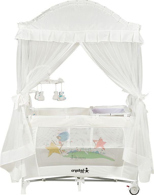 Crystal Baby Cenova Oyun Parkı - Beyaz ürününü inceleyin
