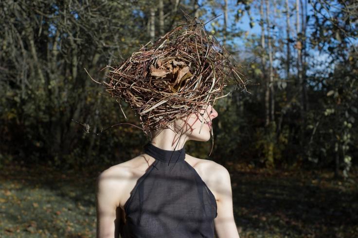 Nature's haute couture on top #odderhojskole #design #weird