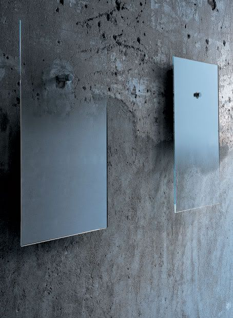 Ghost Mirrors to me, FICTION MIRRORS to JEAN-MARIE MASSAUD FOR GLASITALIA.