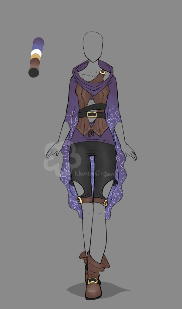Fantasy Outfit #4 - Auction closed by Nahemii-san.deviantart.com on @DeviantArt