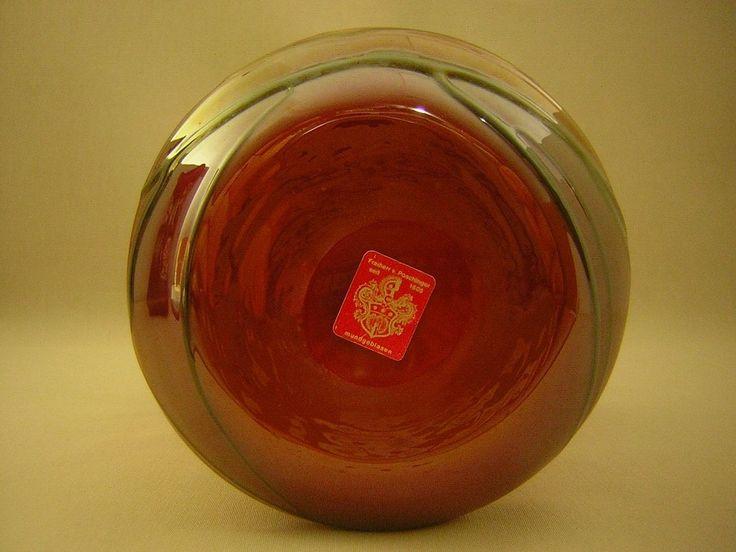 Glasvase, Bayerischer Wald, Poschinger, Lüster, h-16,6cm  | Antiquitäten & Kunst, Glas & Kristall, Sammlerglas | eBay!