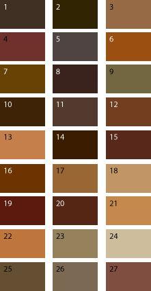 Коричневые оттенки для цветотипа осень