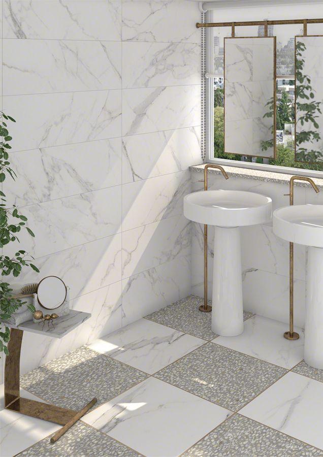 Mejores 38 im genes de total white tiles en pinterest for Revestimiento banos modernos