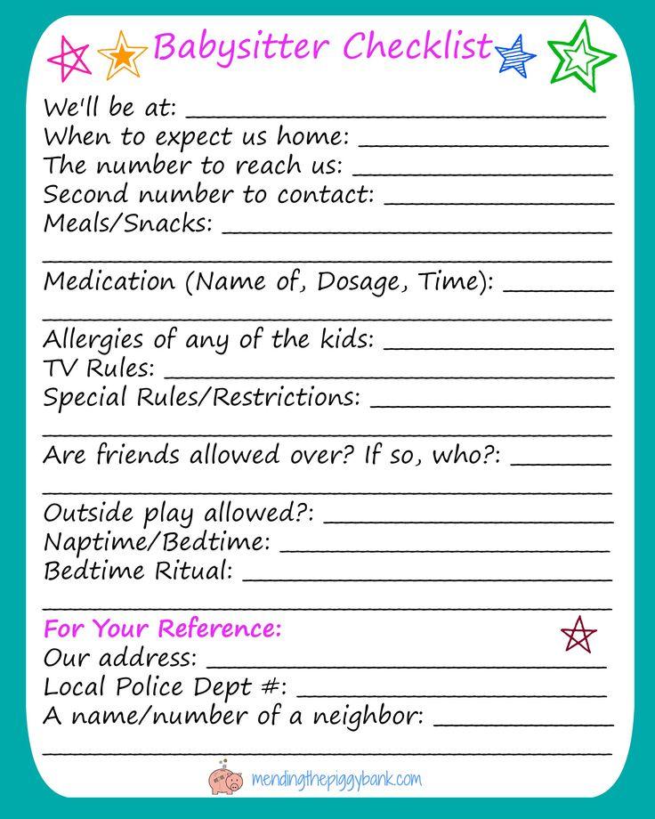 Best 25+ Babysitter checklist ideas on Pinterest Couple ideas - babysitting on a resume