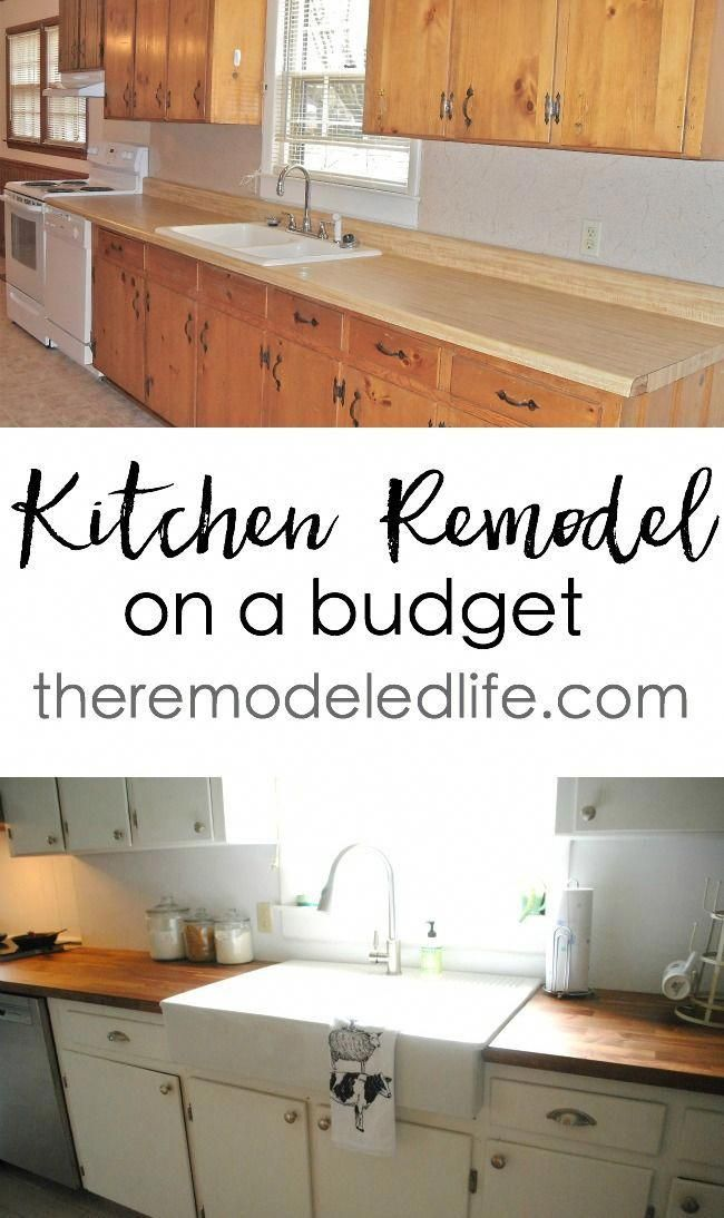 the remodeled life small kitchen remodel on a budget condoremodel rh pinterest com