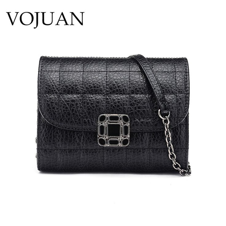 VOJUAN Fashion Women Bag pu Leather Female Shoulder bag Small Chain Handbag Women Messenger Bags for Girls