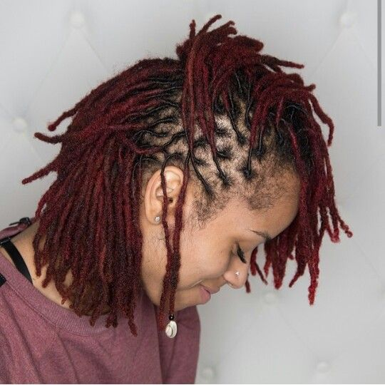 Beautiful red locs