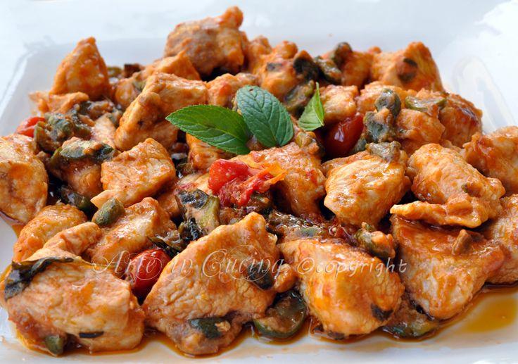 Pollo alle olive e limone ricetta veloce #estate2014