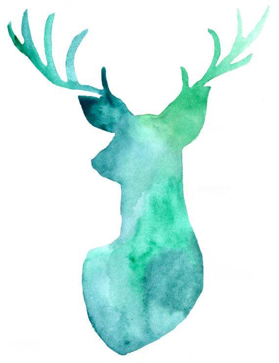 Deer Printable - Etsy - Little Pond Prints
