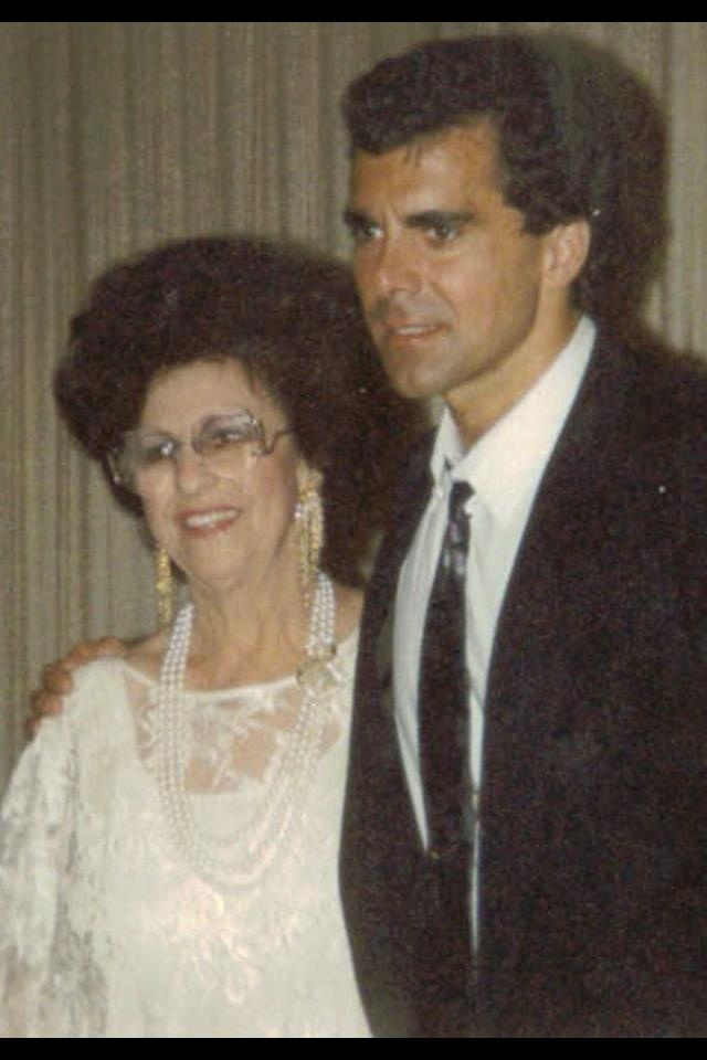 CARMAN AND HIS MOTHER Nancy