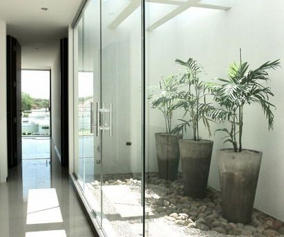 pintu kaca rumah minimalis