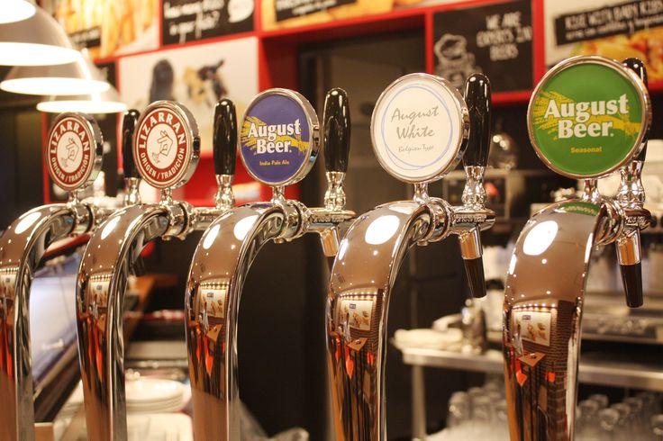 リザラン赤坂にビールもあります!#Lizarran #Beer