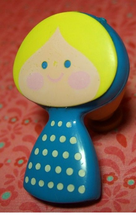Vintage Avon 1971 Scandanavian Girl Small World Perfume Glace Pin via Etsy