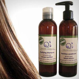Pachetul: For Hair - QI COSMETICS - cosmetice 100% naturale