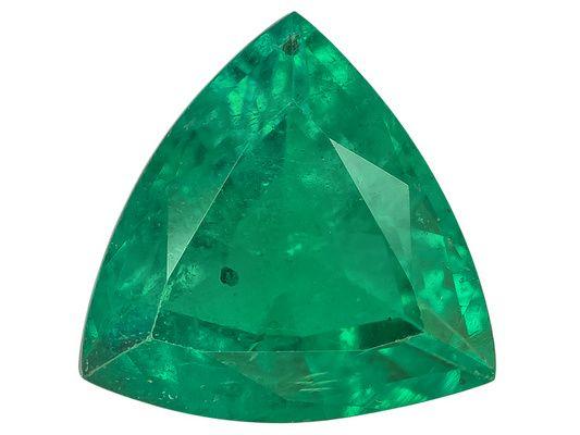 Zambian Emerald 1.56ct 8.5x8.5mm Trillion