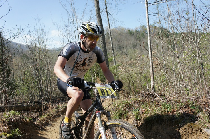 Riding the XC race at Tsali, SERC / US Cup #2