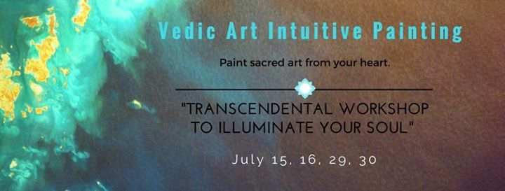 Vedic Art - Certified Intuitive Painting Workshop