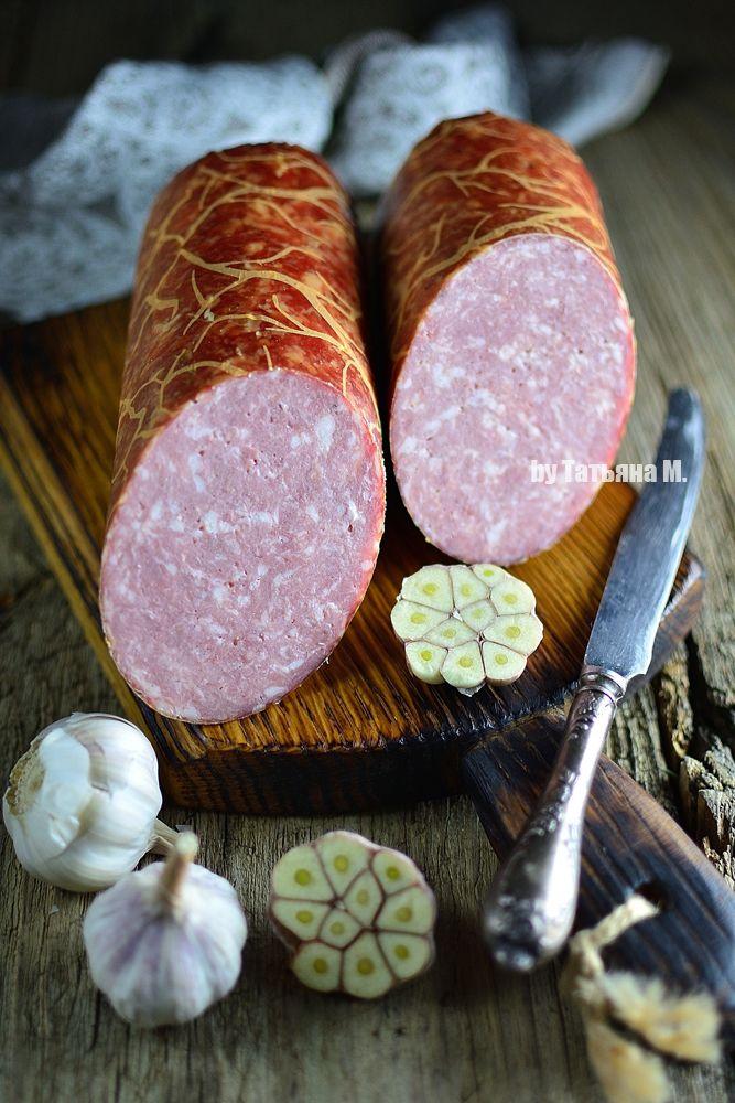 Домашняя колбаса Чесночная